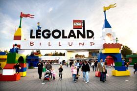 Legoland ligger tæt ved Bindesbølgård Ferielejligheder