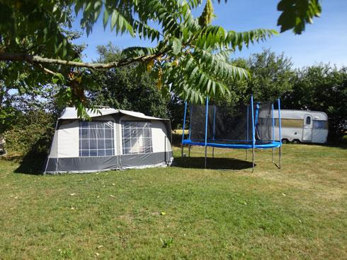 Udlejning af camping ved Bindesbølgård Ferielejligheder
